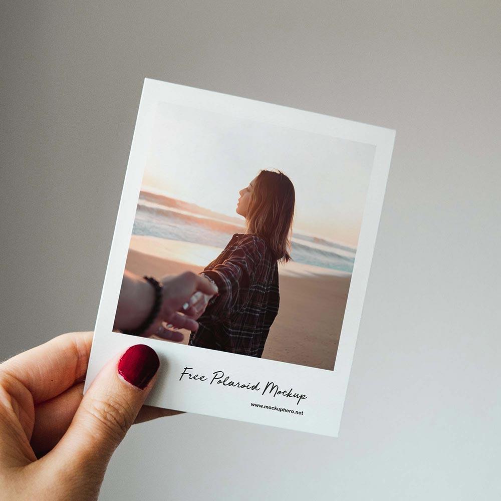 Free Polaroid Mockup