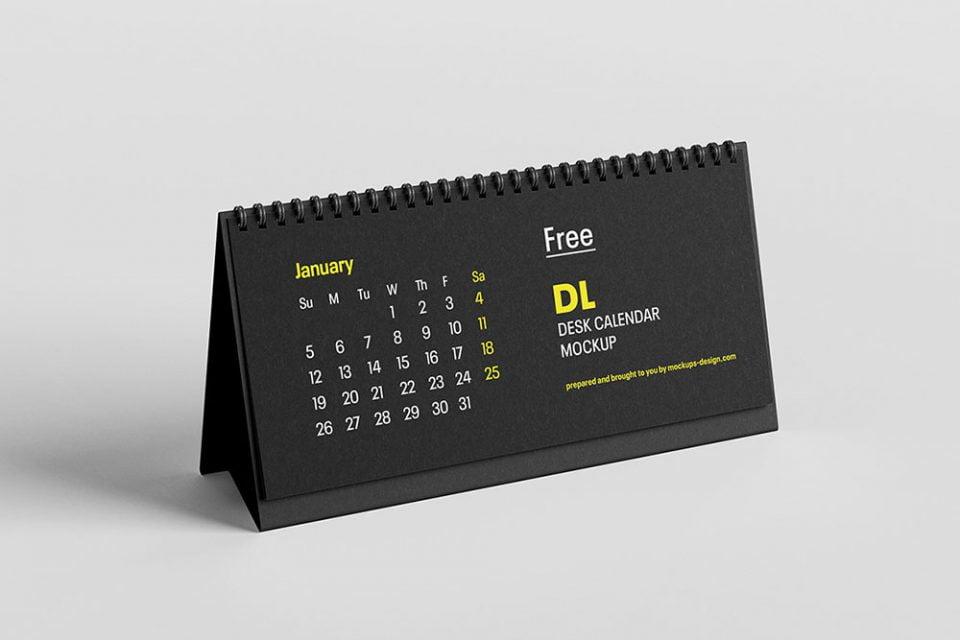 25 Best Free Calendar Mockups For 2021 Mockuptree