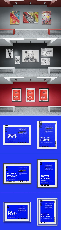 Free Art Gallery Mockup