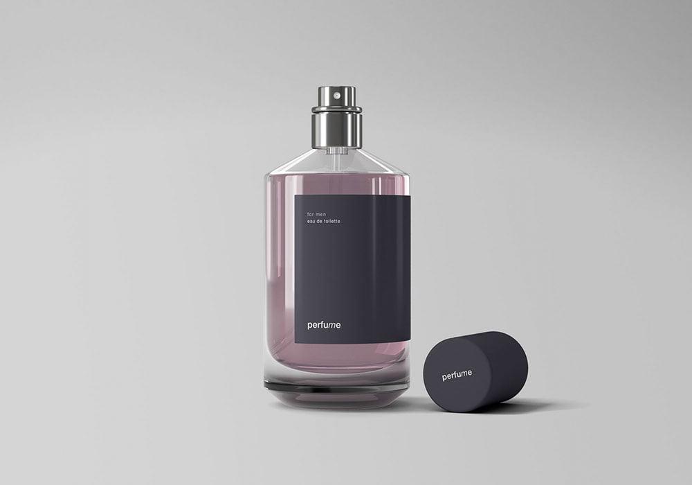 Free Classic Perfume Mockup