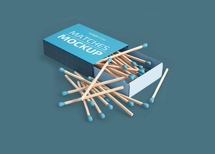 Free Matches Mockup