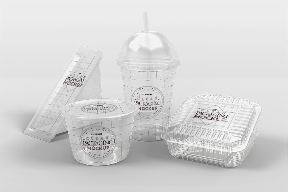 Free Fast Food Packaging Mockup
