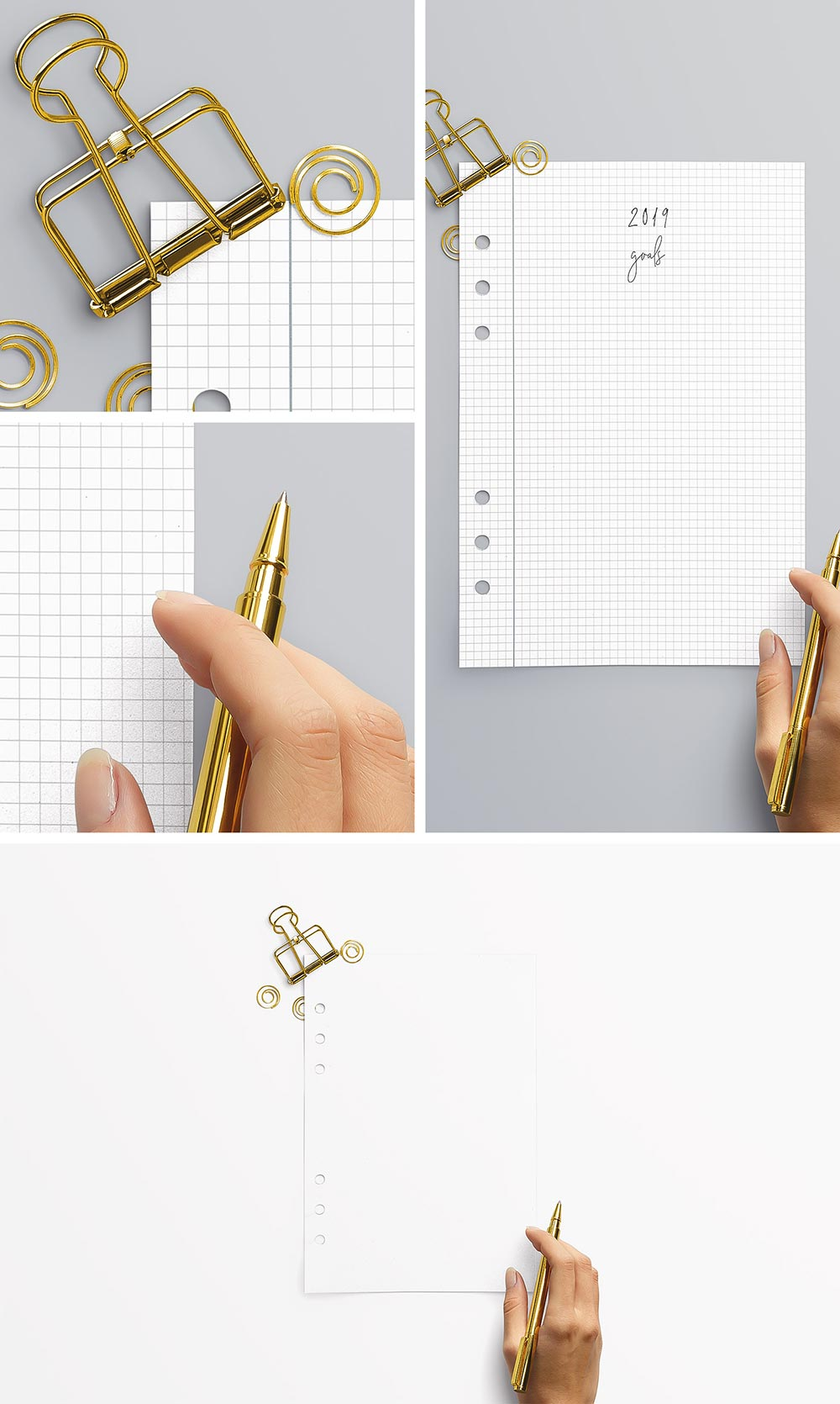 Free A5 Planner Mockup