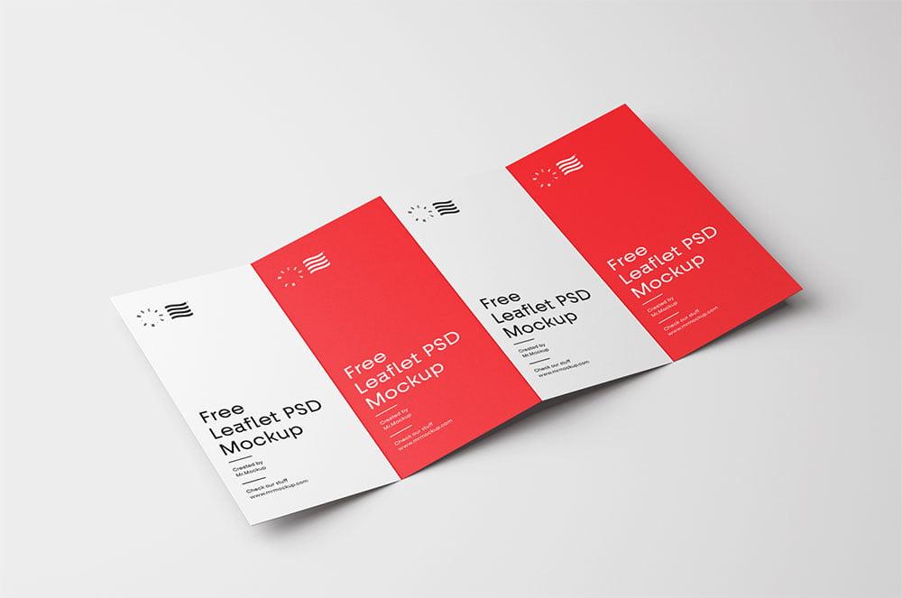 Free Fold Brochure Mockup