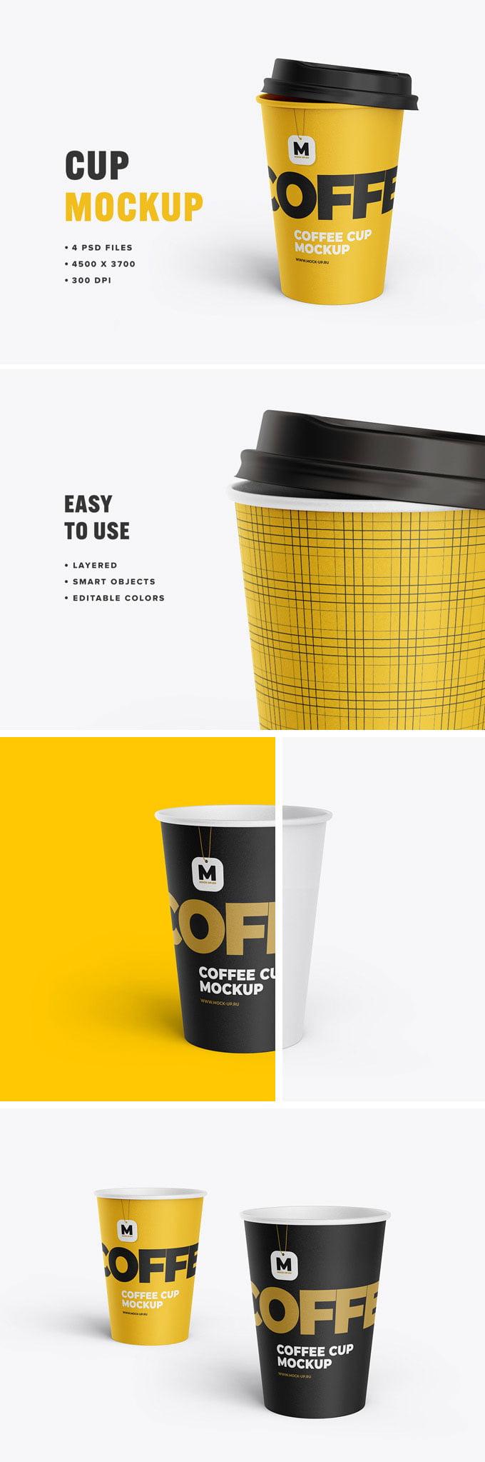 Free Tea Cup Mockup