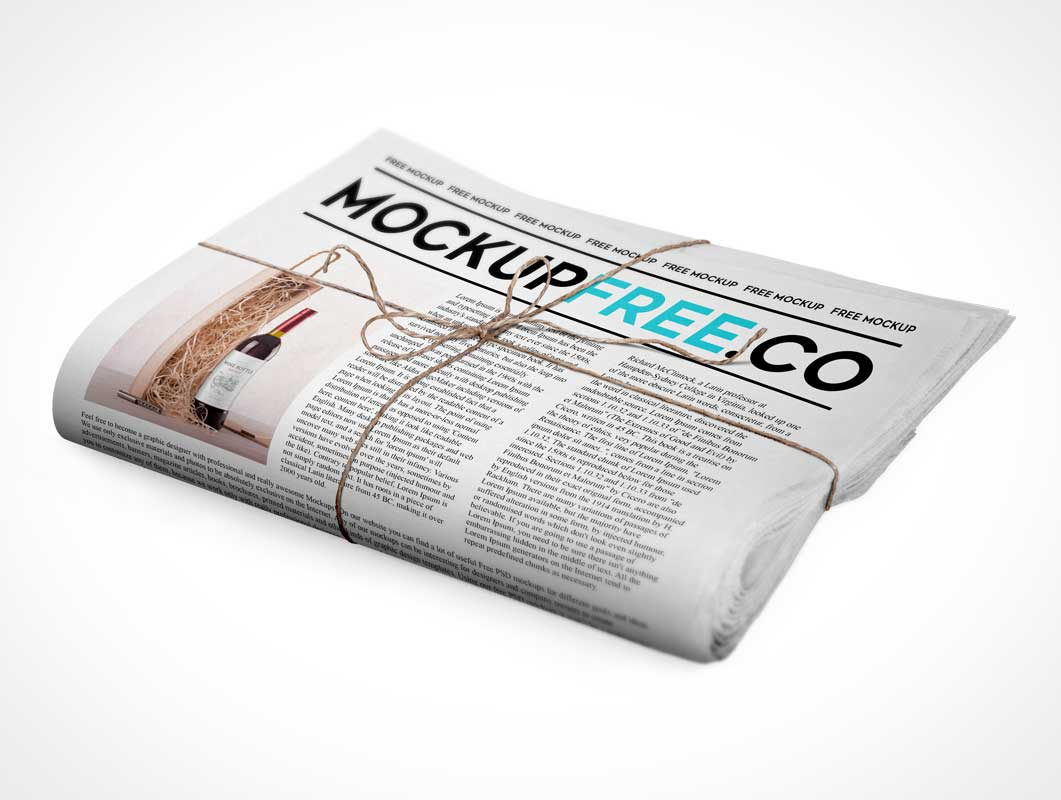 Free Newsletter Mockup