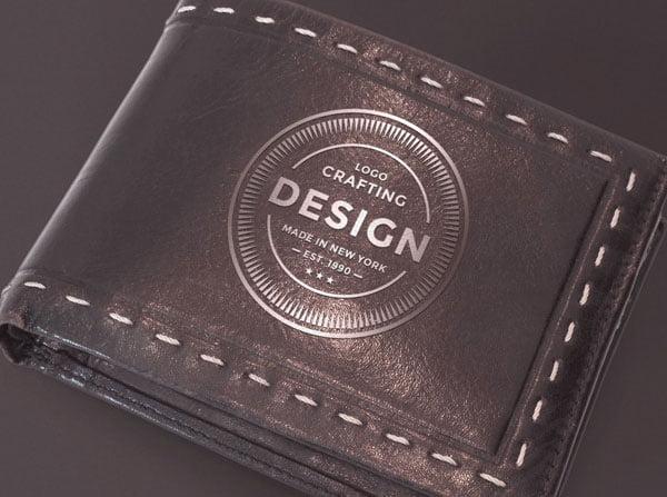 Free Leather Wallet Mockup