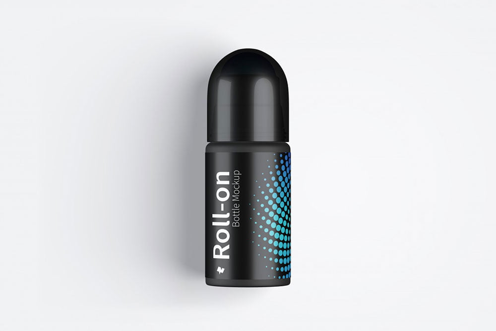 Free Roll-On Bottle Mockup