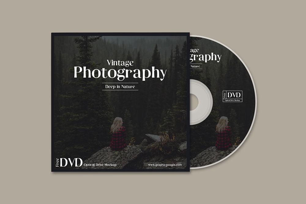 Free Optical DVD Mockup