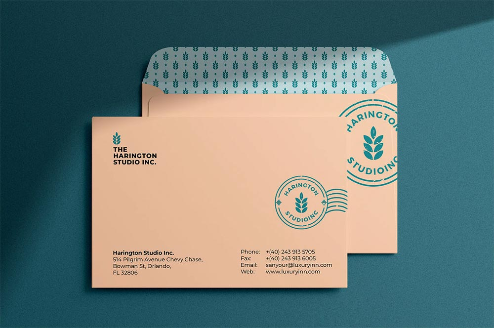 Free Envelope Mockup PSD