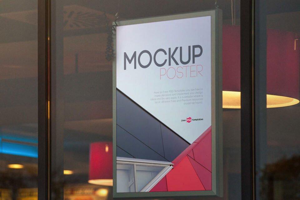 95 Best Free Poster Mockups For 2020 Mockuptree