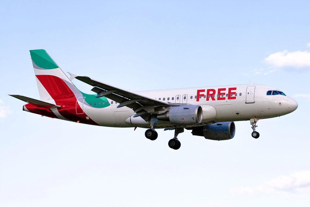Free Plane Mockup
