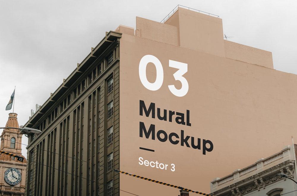 Free Mural Mockup