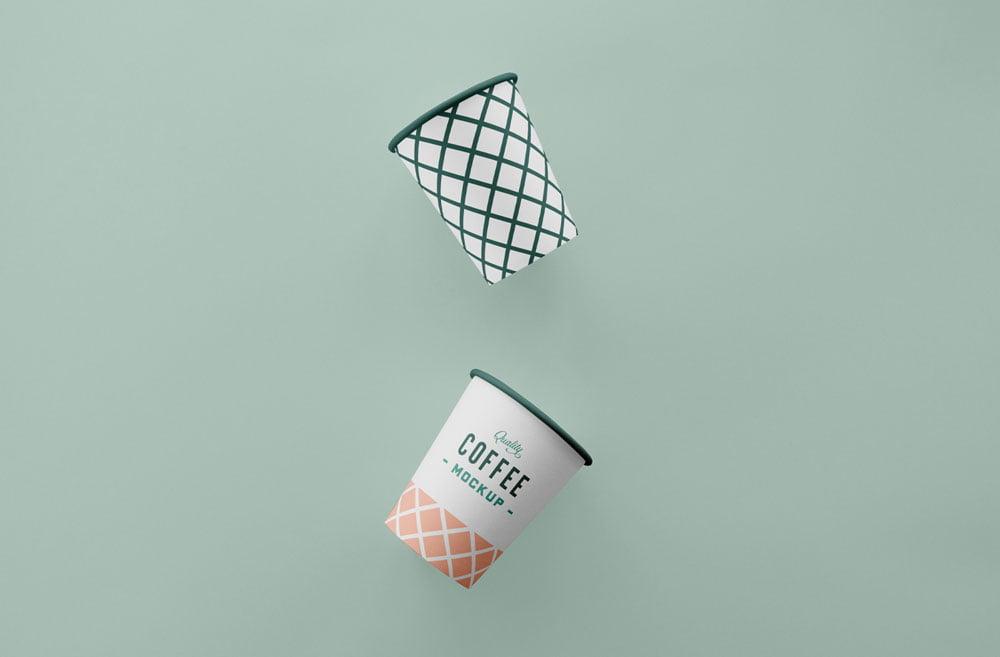 Free Simple Coffee Cup Mockup