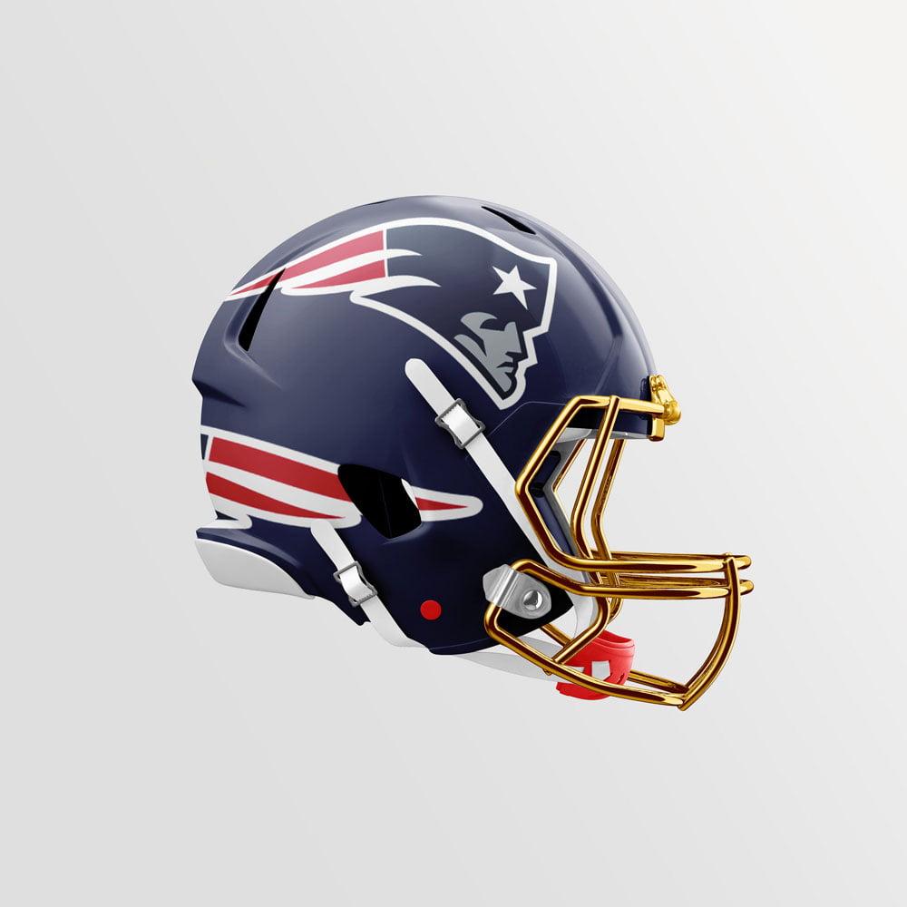 Free American Football Helmet Mockup