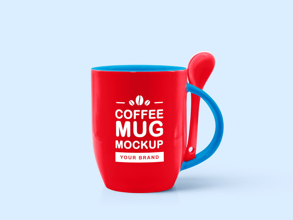 Free Tea Coffee Mug Mockup